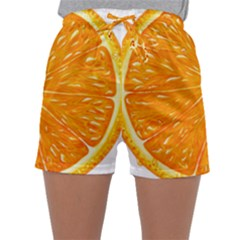 Orange Slice Sleepwear Shorts