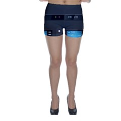 Standard Computer Case Front Skinny Shorts