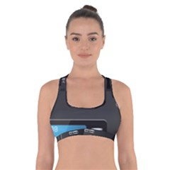 Standard Computer Case Front Cross Back Sports Bra