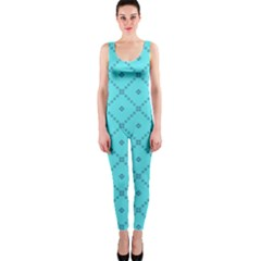 Pattern Background Texture Onepiece Catsuit by BangZart