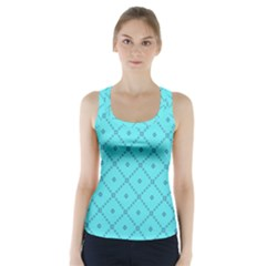 Pattern Background Texture Racer Back Sports Top by BangZart
