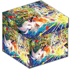 Multicolor Anime Colors Colorful Storage Stool 12