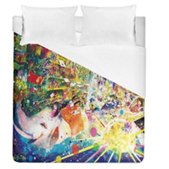 Multicolor Anime Colors Colorful Duvet Cover (queen Size) by BangZart