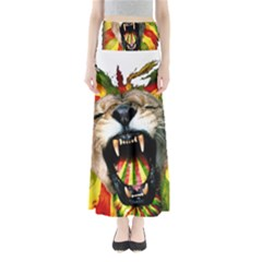 Reggae Lion Full Length Maxi Skirt