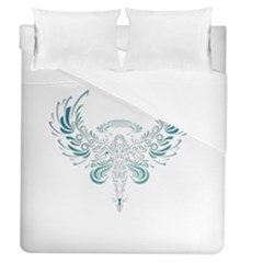 Angel Tribal Art Duvet Cover (queen Size) by BangZart