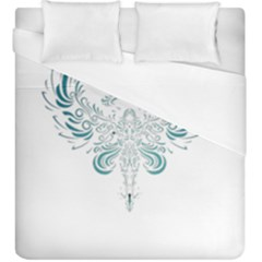 Angel Tribal Art Duvet Cover (king Size) by BangZart
