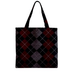 Wool Texture With Great Pattern Zipper Grocery Tote Bag by BangZart