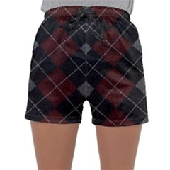 Wool Texture With Great Pattern Sleepwear Shorts