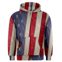 Usa Flag Men s Zipper Hoodie by BangZart