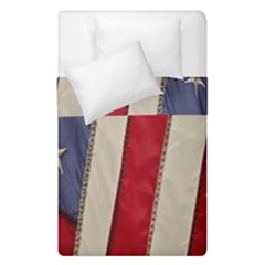 Usa Flag Duvet Cover Double Side (single Size) by BangZart