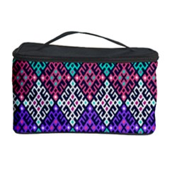 Tribal Seamless Aztec Pattern Cosmetic Storage Case by BangZart