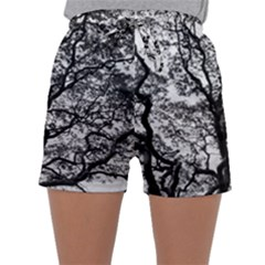 Tree Fractal Sleepwear Shorts