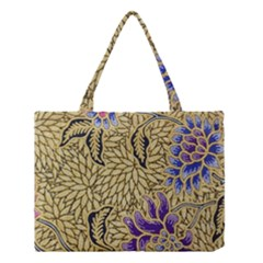 Traditional Art Batik Pattern Medium Tote Bag by BangZart