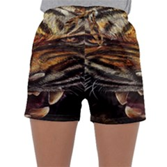 Tiger Face Sleepwear Shorts