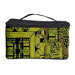 Technology Circuit Board Cosmetic Storage Case by BangZart