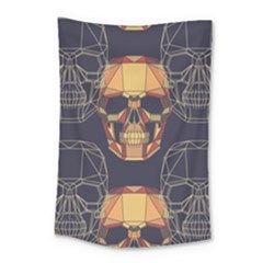 Skull Pattern Small Tapestry