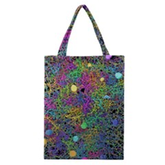 Starbursts Biploar Spring Colors Nature Classic Tote Bag by BangZart
