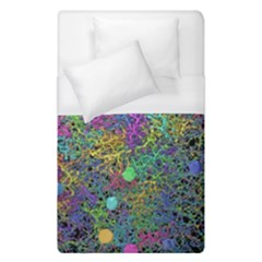 Starbursts Biploar Spring Colors Nature Duvet Cover (single Size)