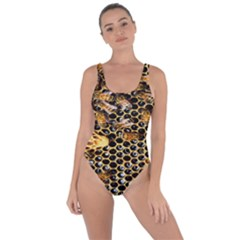 Queen Cup Honeycomb Honey Bee Bring Sexy Back Swimsuit