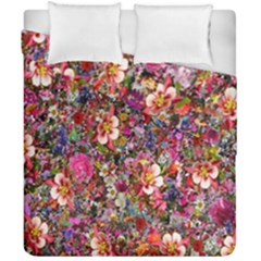 Psychedelic Flower Duvet Cover Double Side (california King Size)