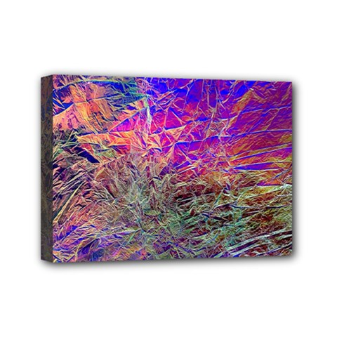 Poetic Cosmos Of The Breath Mini Canvas 7  X 5  by BangZart