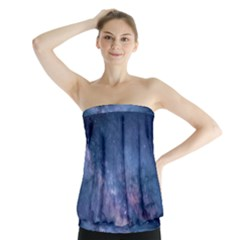 Galaxy Nebula Astro Stars Space Strapless Top by paulaoliveiradesign