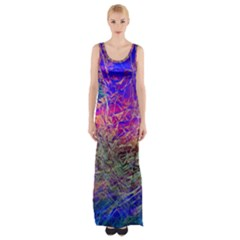 Poetic Cosmos Of The Breath Maxi Thigh Split Dress