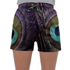 Peacock Feather Sleepwear Shorts