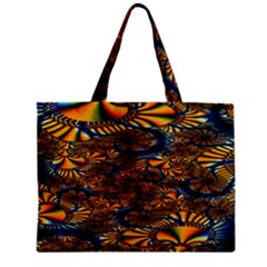 Pattern Bright Zipper Mini Tote Bag by BangZart