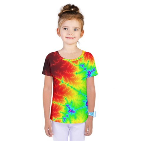 Misc Fractals Kids  One Piece Tee by BangZart