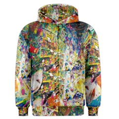 Multicolor Anime Colors Colorful Men s Zipper Hoodie by BangZart