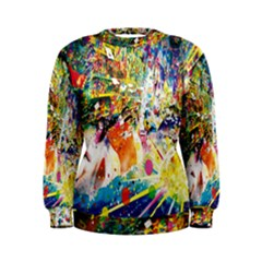 Multicolor Anime Colors Colorful Women s Sweatshirt by BangZart