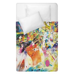 Multicolor Anime Colors Colorful Duvet Cover Double Side (single Size) by BangZart