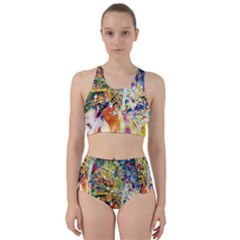 Multicolor Anime Colors Colorful Bikini Swimsuit Spa Swimsuit  by BangZart