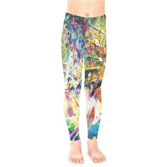 Multicolor Anime Colors Colorful Kids  Legging by BangZart