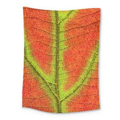 Nature Leaves Medium Tapestry by BangZart