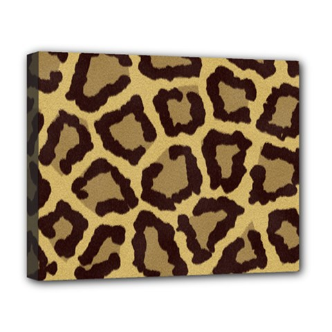 Leopard Deluxe Canvas 20  X 16   by BangZart