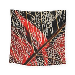 Leaf Pattern Square Tapestry (small) by BangZart