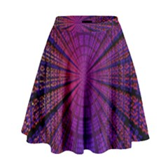Matrix High Waist Skirt