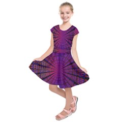 Matrix Kids  Short Sleeve Dress by BangZart