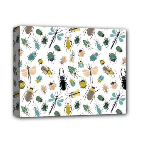Insect Animal Pattern Deluxe Canvas 14  X 11  by BangZart