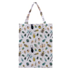 Insect Animal Pattern Classic Tote Bag by BangZart