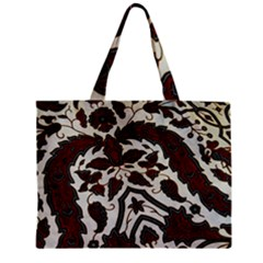 Javanese Batik Zipper Mini Tote Bag by BangZart