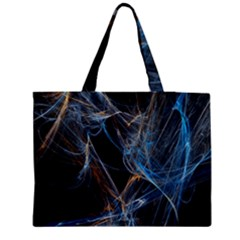 Fractal Tangled Minds Medium Tote Bag by BangZart