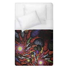 Fractal Swirls Duvet Cover (single Size) by BangZart