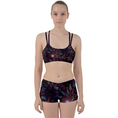Fractal Swirls Women s Sports Set