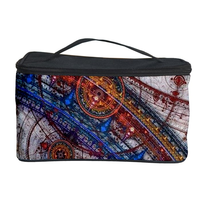 Fractal Circles Cosmetic Storage Case