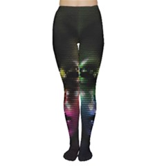 Digital Art Psychedelic Face Skull Color Women s Tights