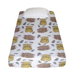 Cute Hamster Pattern Fitted Sheet (single Size) by BangZart
