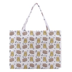 Cute Hamster Pattern Medium Tote Bag by BangZart